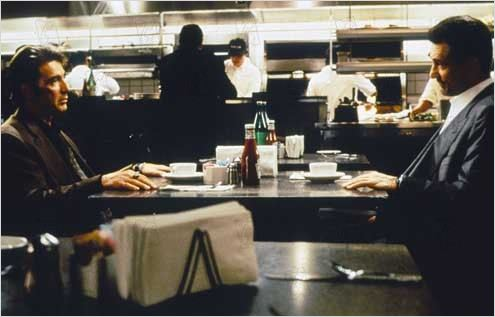Heat : Photo Michael Mann, Robert De Niro