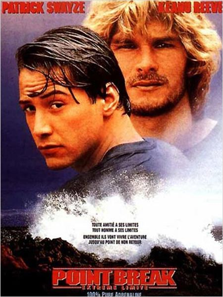 Point break extr&#234;me limite : affiche Kathryn Bigelow