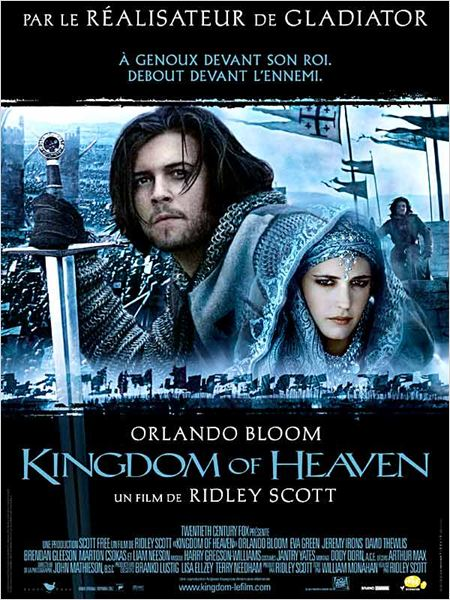 Kingdom of Heaven : affiche Eva Green, Orlando Bloom, Ridley Scott