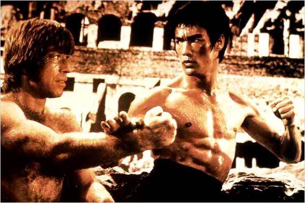 La Fureur du dragon : photo Bruce Lee, Chuck Norris