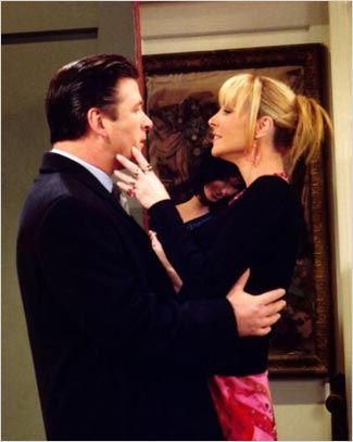 Friends : photo Alec Baldwin, Lisa Kudrow