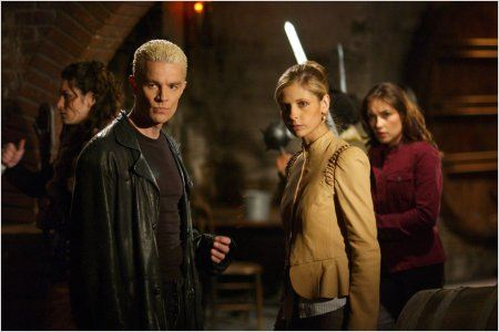 Buffy contre les vampires : photo James Marsters, Sarah Michelle Gellar