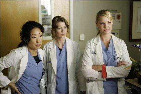 Grey&#39;s Anatomy : photo Ellen Pompeo, Katherine Heigl, Sandra Oh