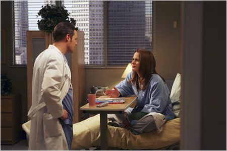 Grey's Anatomy : Photo Elizabeth Reaser, Justin Chambers