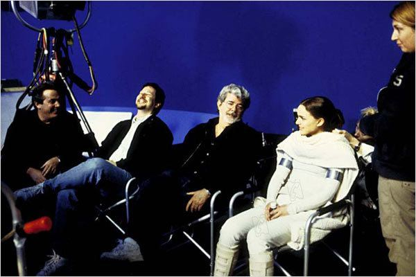 Star Wars : Episode II - L'Attaque des clones : photo George Lucas, John Knoll, Natalie Portman, Rick McCallum