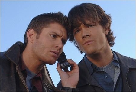 Supernatural : photo Jared Padalecki, Jensen Ackles