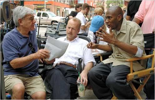 16 Blocs : Photo Bruce Willis, Richard Donner, Yasiin Bey