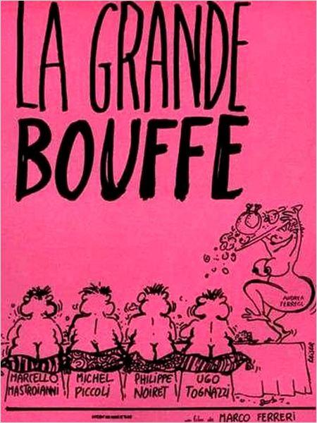 La Grande bouffe : affiche Marco Ferreri