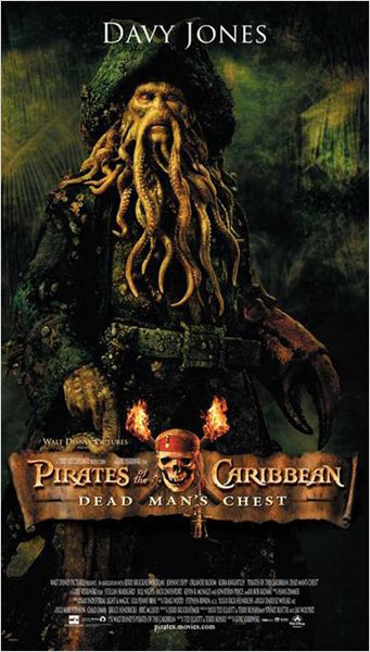 Pirates des Caraïbes : le Secret du Coffre Maudit : affiche Bill Nighy, Gore Verbinski