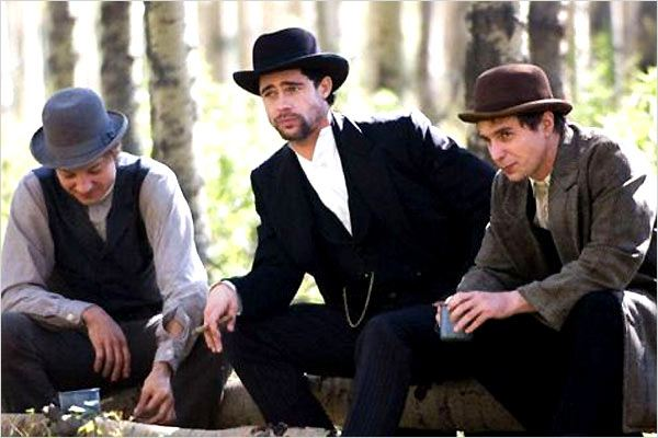 L'Assassinat de Jesse James par le lâche Robert Ford : Photo Andrew Dominik, Brad Pitt, Jeremy Renner, Sam Rockwell