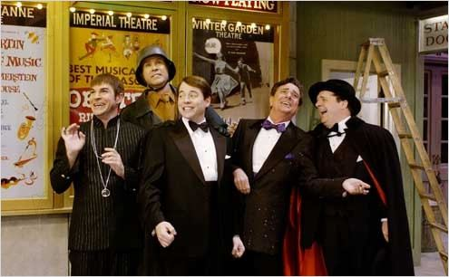 Les Producteurs : photo Gary Beach, Matthew Broderick, Nathan Lane, Roger Bart, Susan Stroman