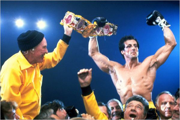 Rocky III : Photo Burgess Meredith, Sylvester Stallone