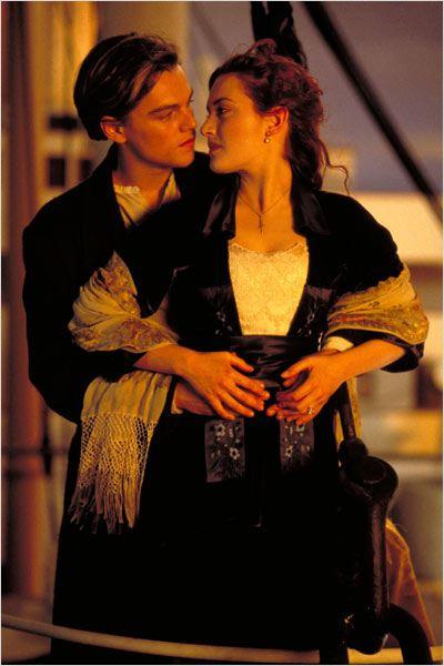 Titanic : Photo James Cameron, Kate Winslet, Leonardo DiCaprio