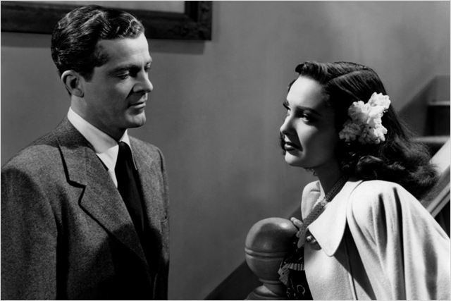 Crime passionnel : photo Dana Andrews, Linda Darnell, Otto Preminger