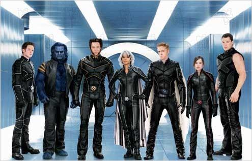 X-Men l'affrontement final : Photo Ben Foster, Daniel Cudmore, Halle Berry, Hugh Jackman, Shawn Ashmore