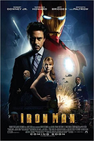 Iron Man : Affiche Gwyneth Paltrow, Jeff Bridges, Jon Favreau, Robert Downey Jr., Terrence Howard