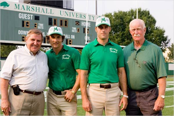 We Are Marshall : photo Jack Lengyel, Matthew Fox, Matthew McConaughey, McG, Red Dawson