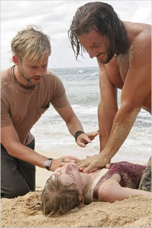 Lost, les disparus : photo Dominic Monaghan, Henry Ian Cusick