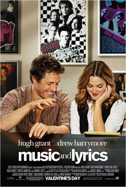 Le Come-back : affiche Drew Barrymore, Hugh Grant, Marc Lawrence (III)