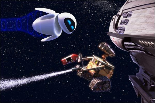 Wall-E : Photo Andrew Stanton
