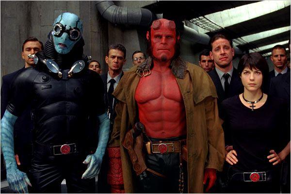 Hellboy II les légions d'or maudites : Photo Doug Jones, Ron Perlman, Selma Blair