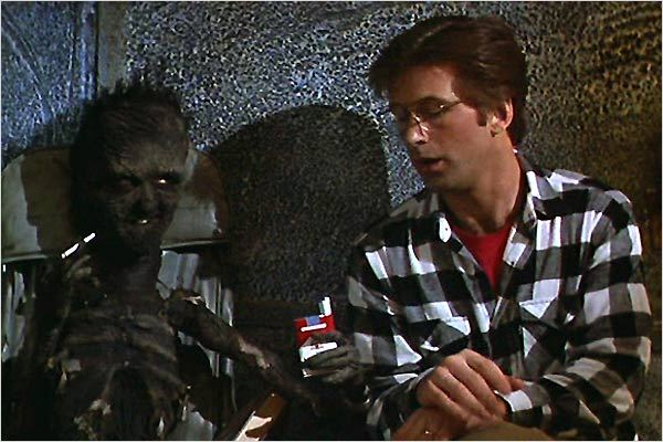 Beetlejuice : photo Alec Baldwin, Tim Burton