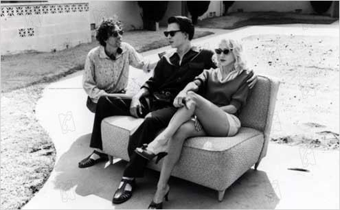 Ed Wood : photo Johnny Depp, Tim Burton