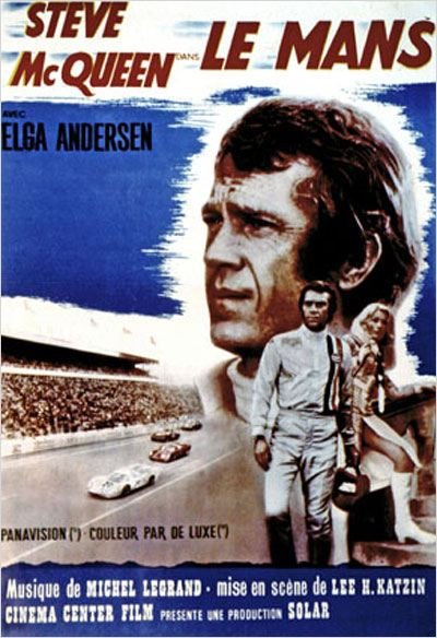 le mans affiche lee h katzin steve mcqueen. Black Bedroom Furniture Sets. Home Design Ideas