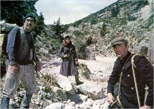 Les Canons de Navarone : photo Anthony Quinn, Gregory Peck, Irène Papas, Jack Lee Thompson
