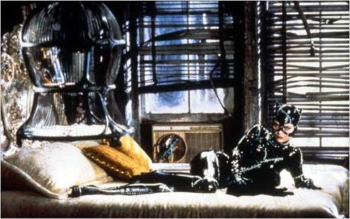 Batman, le défi : Photo Michelle Pfeiffer, Tim Burton