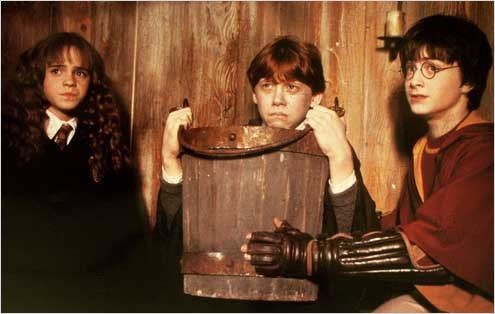 Harry Potter et la chambre des secrets : Photo Chris Columbus, Daniel Radcliffe, Emma Watson, Rupert Grint