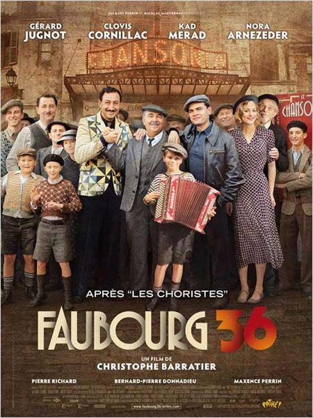 bande originale, musiques de Faubourg 36