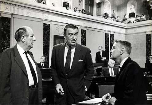 Tempête à Washington : Photo Otto Preminger, Walter Pidgeon