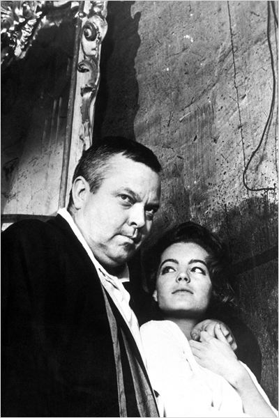 Le Procès : photo Orson Welles, Romy Schneider