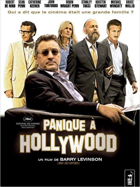 Panique à Hollywood : affiche Barry Levinson, Bruce Willis, John Turturro, Robert De Niro, Robin Wright