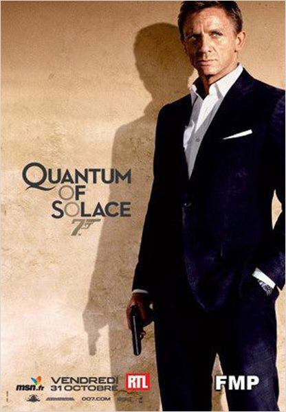Quantum Of Solace : affiche Daniel Craig, Marc Forster