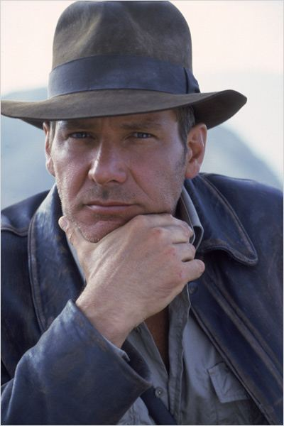 Indiana Jones et la Derni&#232;re Croisade : Photo Harrison Ford, Steven Spielberg