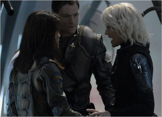Battlestar Galactica : Photo Grace Park, Tahmoh Penikett, Tricia Helfer
