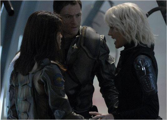 Battlestar Galactica : Photo Grace Park, Tahmoh Penikett, Tricia Helfer