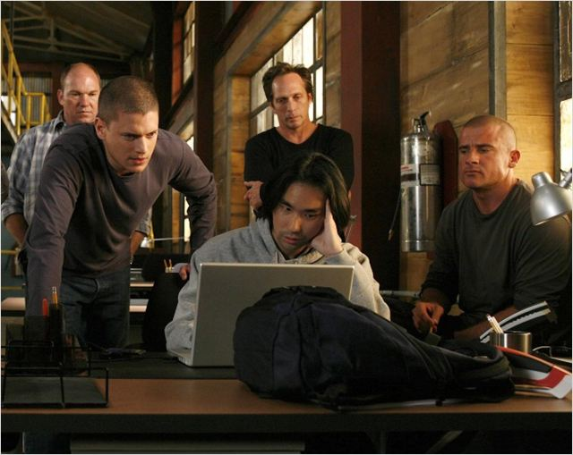 Prison Break : Photo Dominic Purcell, Wade Williams (II), Wentworth Miller, William Fichtner
