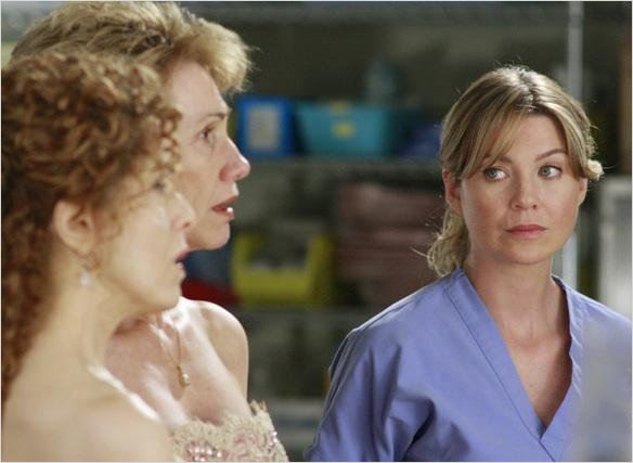 Grey's Anatomy : photo Ellen Pompeo, Kathy Baker
