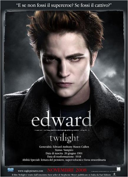 Twilight - Chapitre 1 : fascination : affiche Catherine Hardwicke, Robert Pattinson, Stephenie Meyer