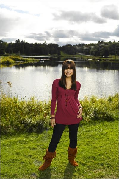 Camp Rock : Photo Demi Lovato, Matthew Diamond