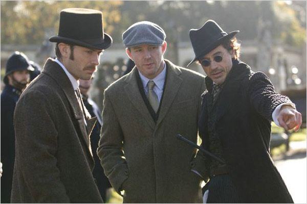 Sherlock Holmes : Photo Guy Ritchie, Jude Law, Robert Downey Jr.