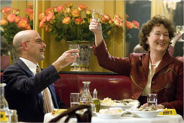 Julie et Julia : Photo Meryl Streep, Nora Ephron, Stanley Tucci