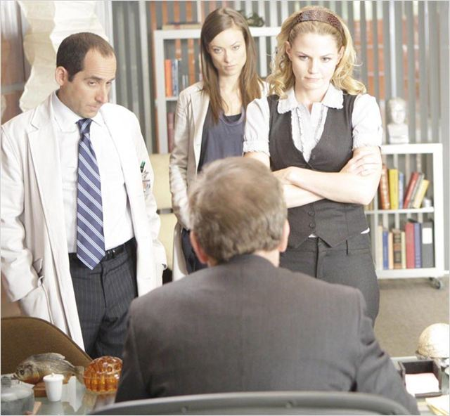 Dr House : photo Hugh Laurie, Jennifer Morrison, Olivia Wilde, Peter Jacobson