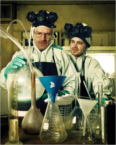 Breaking Bad : Photo Aaron Paul, Bryan Cranston
