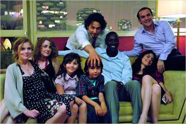 Tellement proches : Photo Audrey Dana, François-Xavier Demaison, Isabelle Carré, Joséphine de Meaux, Max Clavelly