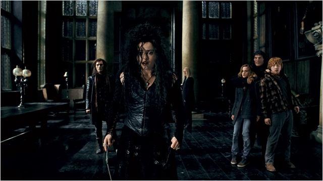 Harry Potter et les reliques de la mort - partie 1 : Photo Dave Legeno, Emma Watson, Helena Bonham Carter, Rupert Grint