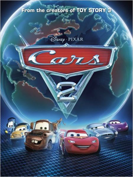 Cars 2 : Affiche